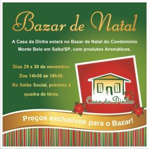 Anuncio Bazar de Natal